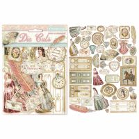 Stamperia Die cuts assorted - Princess