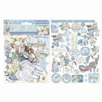 Stamperia Die cuts assorted - Winter Tales