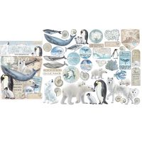 Stamperia Die cuts assorted - Arctic Antarctic