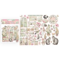 Stamperia Die cuts assorted - Orchids and Cats