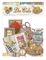 Stamperia Die cuts assorted - Atelier des Arts