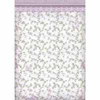 Stamperia A3 Rice paper packed Provence Flowers