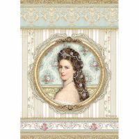 Stamperia A4 Decoupage Rice paper packed Princess