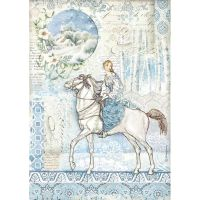 Stamperia A4 Decoupage Rice paper packed Horse