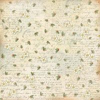 Stamperia Single napkin Writing and butcher's broom