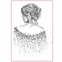 Stamperia Silhouette Art Napkin A4 Walking away