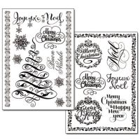 Stamperia Transfer Paper - Christmas Greetings (Scritte Natale) -2 sheets A4