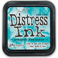 Peacock Feathers - Tim Holtz Distress Ink Pad by Ranger