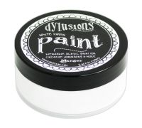 Ranger Dyan Reaveley's Dylusions Paint 2oz - White Linen