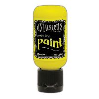 Ranger Dyan Reaveley''s Dylusions Paint 1oz - Lemon Zest