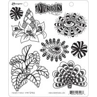 Ranger Dyan Reaveley''s Dylusions Cling Stamp - Foliage Fillers