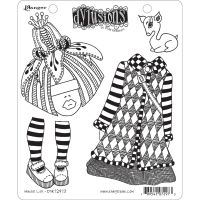 Ranger Dyan Reaveley''s Dylusions Cling Stamp - Maisie Lilly
