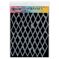 Ranger Dylusions Stencils - Diamond in the Rough - Large