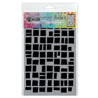 Ranger Dyan Reaveley''s Dylusions Stencil - Betsy''s Block, Small
