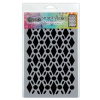 Ranger Dyan Reaveley''s Dylusions Stencil - Fancy Floor, Small