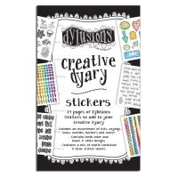Ranger Dylusions Creative Dyary Sticker Book
