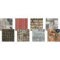 Tim Holtz 6 x 6 - Melange Fabric Craft Pack (8 Piece Crafting Pack)