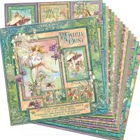 Graphic 45 Fairie Dust 12x12 Paper Pack (16 sheets)