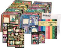 Graphic 45 Fashion Forward 12x12 I Want It All Bundle (does not include 8x8)