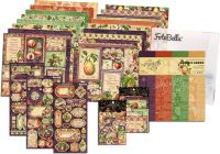 Graphic 45 Fruit & Flora 12x12 I Want It All Bundle (does not include 8x8)