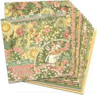Graphic 45 Garden Goddess 12x12 Paper Pack (16 sheets)