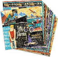 Graphic 45 Life's a Journey 12x12 Paper Pack (16 sheets)