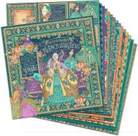 Graphic 45 Midnight Masquerade 12x12 Paper Pack (16 sheets)