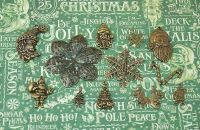 Vintage Charms hand selected by FotoBella for Graphic 45 St Nicholas