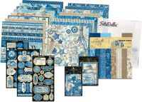 Graphic 45 Ocean Blue 12x12 I Want It All Bundle (does not include 8x8)