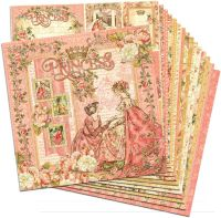 Graphic 45 Princess 12x12 Paper Pack (16 sheets)
