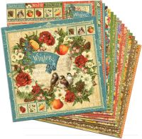 Graphic 45 Seasons 12x12 Paper Pack (16 sheets)