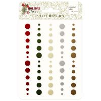 PhotoPlay Holiday Cheer Enamel Dots