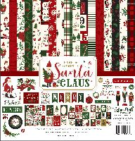 Echo Park Paper Here Comes Santa Claus Collection Kit