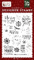 Echo Park Paper Magic Of Christmas Stamp Set