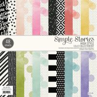 Simple Stories High Style 12 x 12 Pad