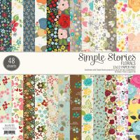 Simple Stories Florals 12 x 12 Pad