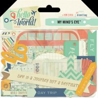 My Minds Eye Hello World - Travel Mixed Bag
