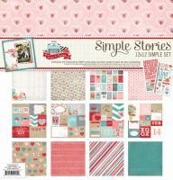 Simple Stories Hugs and Kisses 12x12 Collection Kit