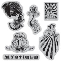 Graphic 45 Le Cirque Cling Stamps 2