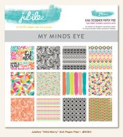 My Minds Eye Jubilee - Wild Berry - 6x6 Paper Pad