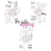 Prima Marketing Julie Nutting Bundle Fall 2020 Release NEW Mixed Media Doll Stamps (3 stamps sets - Carter and Carly, Katrina, Mandy)