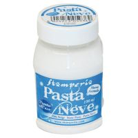 Stamperia Snow Paste - 100 ml