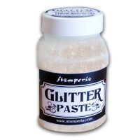 Stamperia Glitter Paste 100 ml - Clear Irridescent