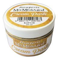 Stamperia Cream Paste metallic 150 ml. Gold