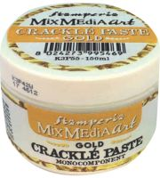 Stamperia Gold Crackle Paste monocomponent 150 ml.