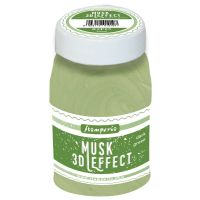 Stamperia 3D Musk (Moss) effect 100 ml. Light Green