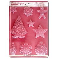 Stamperia Soft Mould  A4  - Christmas