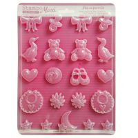Stamperia Soft maxi Mould  - Baby