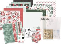 KaiserCraft Peppermint Kisses Scrapbooking Bundle