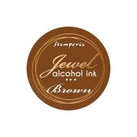 Stamperia Jewel Alcohol Ink 20 ml Brown